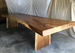 "12'5"" Dining Table/Conference Table/Bar top; Live Edge; Soli"