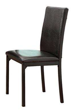 Homelegance 2601S Bi-Cast Vinyl Upholstered Dining Chair, Da