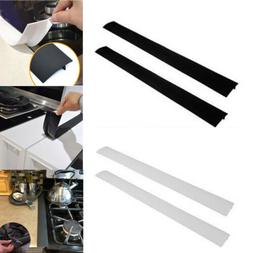 2xKitchen Silicone Stove Counter Gap Cover Easy Clean Heat-r