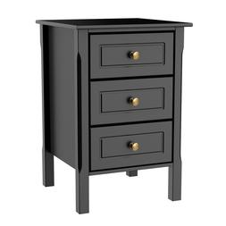 Nightstand Accent End Side Bedside Table Bedroom Living Room
