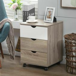 Bedroom Dressers Chest With 3 Drawers Storage Cabinet Home T