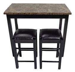 "Pearington 36"" H X 42"" W 3 Piece Tavern/Counter Height Table"