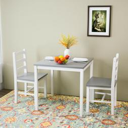 3pcs dining table sets with 2 chair