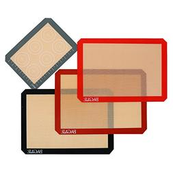 4 Set Silicone Baking Mat – 3 Thick Half Sheet Liners and