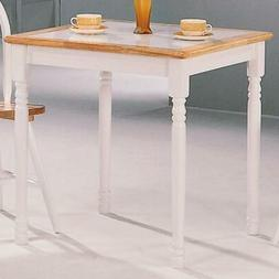 Coaster 4191 - Damen Square Tile Top Casual Dining Table - N