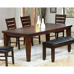 ACME 4620 Birch Veneer Dining Table, Country Cherry Finish