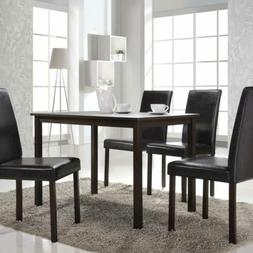 5 Piece Dining Room Set Table and 4 Chairs Dinette Kitchen H