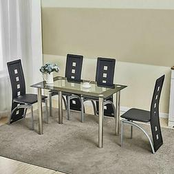 5 piece dining table set kitchen room