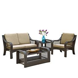 Home Styles 5804-200 Lanai Breeze Love Seat, Accent Chair, E