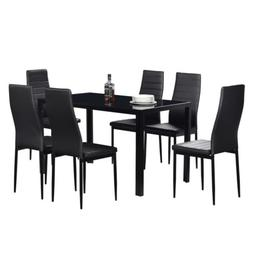 7 piece dining table set for 6