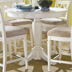 American Drew Camden Round Counter Height Pedestal Table in