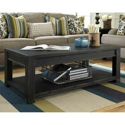 Ashley Furniture Signature Design - Gavelston Black Coffee T