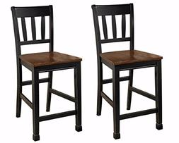 Ashley Furniture Signature Design Owingsville Barstool, Blac
