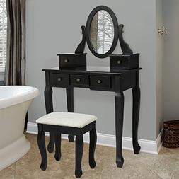 Best Choice Products Bedroom Makeup Cosmetic Beauty Vanity H