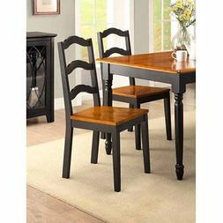 Better Homes and Gardens Autumn Lane Ladder Back Dining Chai
