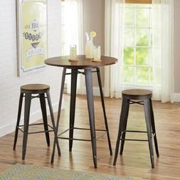 Better Homes and Gardens Harper 3-Piece Pub Set Bar-Style 42