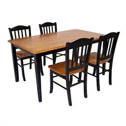 Boraam Industries Inc Shaker 5 Piece Dining Set