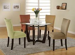 Coaster Home Furnishings Casual Dining Table Base Only , Cap