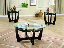 Coaster Home Furnishings 700295 Contemporary 3-Piece Table S