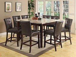 Coaster Home Furnishings  Milton Modern Transitional Real Ma