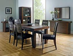 Coastlink Kita Walnut Extension Dining Table Set for 8 - Sla