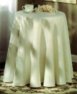 "Concord 70"" Round Tablecloth - Linen"