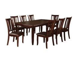 Furniture of America Frederick 9-Piece Dining Table Set with