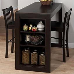 Jofran 3 Piece Counter Height Storage Dinette in Maryland Me