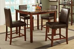 Poundex PDEX-F2542 Dining Tables, Multi