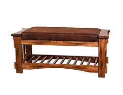 Sunny Designs Sedona Bench with Cushion Seat