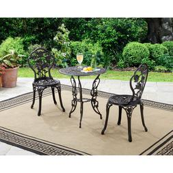 Accent Chair Wrought Iron Patio Bistro Set Table And Chairs