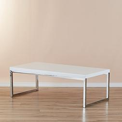 Zipcode Design Addison Coffee Table with Steel Frame Clean L