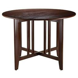 Alamo Double Drop Leaf Round 42 Inches Table Mission
