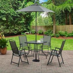 Mainstays Albany Lane 6 Piece Outdoor Patio Balcony Dining S