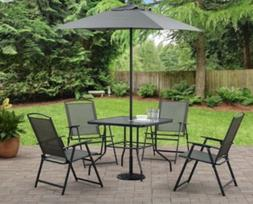Mainstays Albany Lane 6 Piece Outdoor Patio Dining Set, Mult