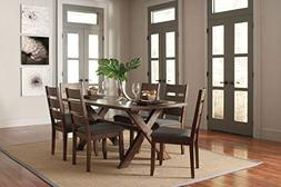 Coaster Home Furnishings Alston 5-Piece Dining Set with Tres