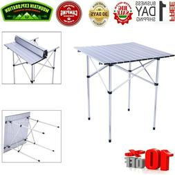 Aluminum Folding Table Portable Outdoor Picnic Party Dining