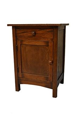 Crafters & Weavers Arts and Crafts Mission Nightstand End Ta
