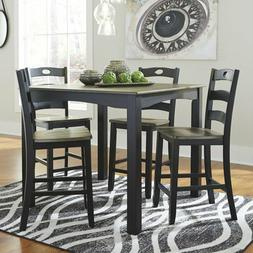 Ashley Froshburg Square 5 Piece Counter Height Dining Table