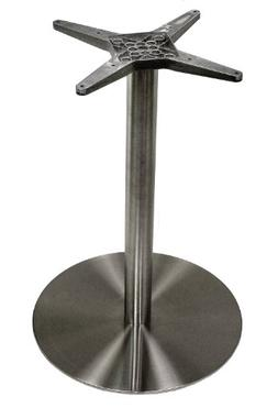 ATC Futura Round Stainless Steel Low Profile Table Base, 20""