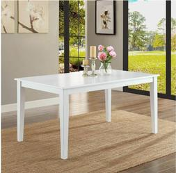 Better Homes and Gardens Bankston Dining Table White Room Se