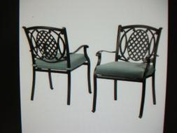 Hampton Bay Belcourt Dining Chairs 6pc - Local pick up in NJ