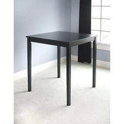 TMS Belfast Black Saddle Dining Table