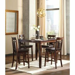 Ashley Furniture Bennox Brown Tone 5 Pc Counter Ht Dining Ta