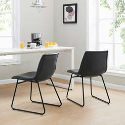 Better Homes & Gardens Theodore Dining Chairs, Set of 2, Bla