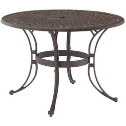 """Home Styles Biscayne 42"""" Round Outdoor Dining Table, Multipl"""