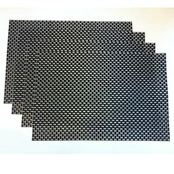 High Spirals black table place mats to protect your modern d