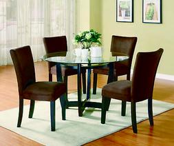 Bloomfield Cappuccino Round Dining Table Base ONLY