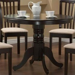 Brannan 40 Round Capuccino Dining Table by Coaster Furniture