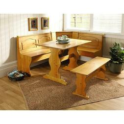 Breakfast Nook Tables Set Bench Dining With Storage Corner K